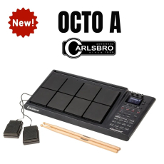 Hey drummers!🤩 this is definitely something exciting for you !🔥 Carlsbro has launched the new OCTO A Percussion Pad in 2020 and now is available in our stores ! 😃 🆕️ #octoa #carlsbrodrums #sonomusic_tunisia