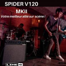Visitez :⤵️ https://store.sonomusic.tn/fr/yamaha/3720-line6-ampli-spiderv120mkii.html #spiderv120😎🎸 #sonomusic_tunisia