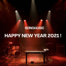 #sonomusic_tunisia wish you a happy new year filled with prosperity, joy and contentment ! 😀🎺🥁🎸🎵🎹